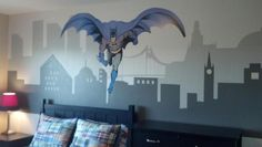 Super Hero Room-minus the batman