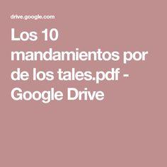 Los 10 mandamientos por de los tales.pdf - Google Drive