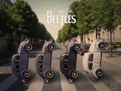vw beetle, the beatles,.XBrosApparel Vintage Motor T-shirts, VW Beetle & Bug T-shirts, Great price Auto Volkswagen, Vw T1, Vw Camping, Kdf Wagen, Les Beatles, Beatles Art, Vw Vintage, Abbey Road, Jolie Photo