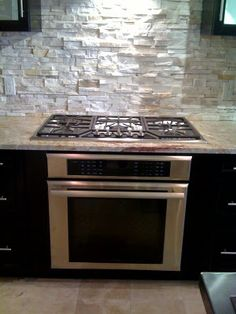 Single Wall Oven With A Cooktop Projects To Try