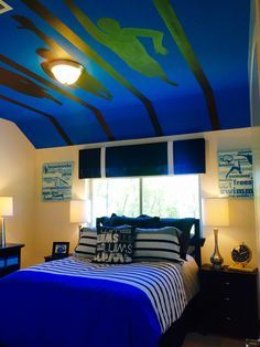 Image result for swimming themed bedroom
