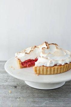 Rhubarb Meringue Pie - Bill Granger