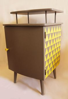 Up-Cycled Mid Century Bedside Cabinet. £75.00, via Etsy.