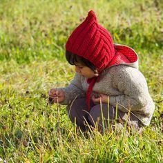 Strickanleitung kostenlos Zwergenmütze Pixiehat Wichtelmütze für Kinder Anleitung Stricken knitting kids