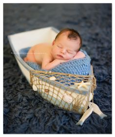 perfect for a nautical nursery!  Jaiden Photography