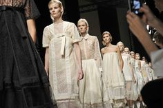 The finale at Rochas by Stéphane Feugère