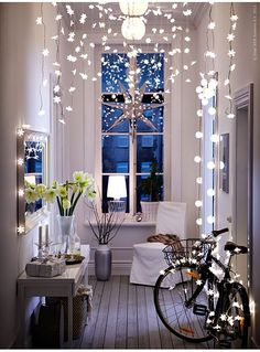 Fun fairy lights. En mammas dag - - Helena