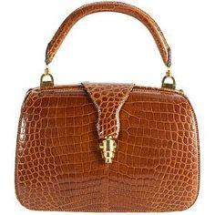 Alligator handbags for sale Handbags On Sale, Purses And Handbags, Leather Handbags, Vintage Mode, Vintage Gucci, Vintage Purses, Vintage Handbags, Vintage Bags, Beautiful Handbags