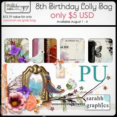Sarahh Graphics - Lolly Bag