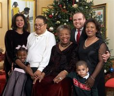 Maya Angelou and Her Son | Biography of Maya Angelou | Gives birth to Clyde | Event view