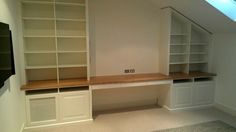home office wall unit | Custom Made Home Office Wall Units - Sylvania Premises - Canalside ...