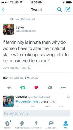 Preach sister! #feminism #gender