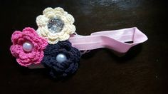 Check out this item in my Etsy shop https://www.etsy.com/listing/238665138/crochet-flower-headband