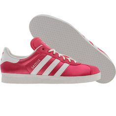 low priced 0c6fa 6badb Adidas Womens Gazelle 2 (super pink  runninwhite) G60437 - 64.99 Pink  Gazelles,