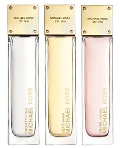 Michael Kors perfumes are gifts for my Miss Halls teachers. I will give my favorite people expensive and fancy gifts.