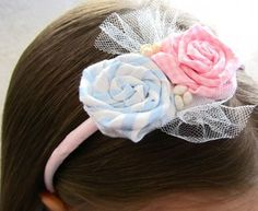 You're all done! You just made a rosette headband that looks cute on everyone, and can be made to match every outfit!