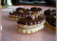 Small Desserts, Sweet Desserts, Sweet Recipes, Christmas Sweets, Christmas Baking, Czech Desserts, Cake Recept, Czech Recipes, Eclairs