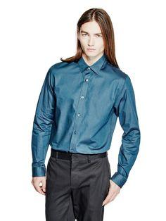 Mini Check Slim-Fit Shirt