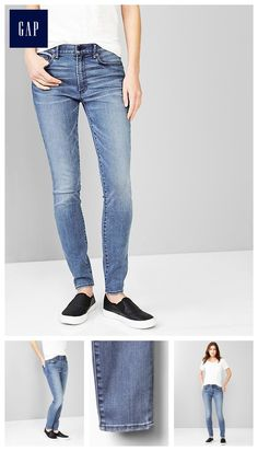 e6173d1646 1969 resolution true skinny high-rise jeans - Our smartest stretch yet. The  new