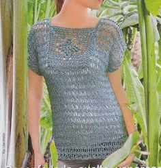 #ClippedOnIssuu from Diana moda de ganchillo №55 2013