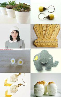 Fresh as a Daisy by Vikki Pike on Etsy--Pinned with TreasuryPin.com