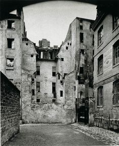 Eugene Atget. Documenting the architecture and street scenes of Paris