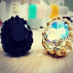 Statement Rings: www.clover-boutique.com $15.00