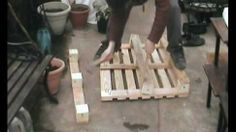 Learn How to Properly Dismantle a Wooden Pallet