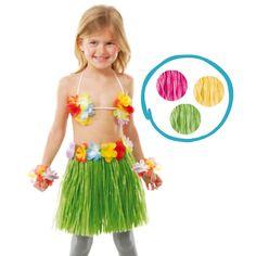 Conjunto #hawaiano infantil. A los niños/as les encantará ir tan fresquitos…