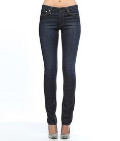 PREMIERE SKINNY STRAIGHT LEG JEAN in Denim Straight at Denim Habit