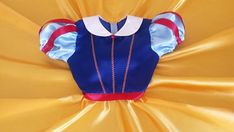 Computer drafted PDF sewing pattern Snow White costume Baby