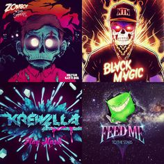 Zomboy // Kill The Noise // Krewella // Feed Me