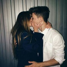 Pinterest: @vandanabadlani // elegant romance, cute couple, relationship goals, prom, kiss, love, tumblr, grunge, hipster, aesthetic, boyfriend, girlfriend, teen couple, young love.