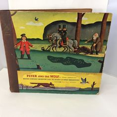 RCA Victor RED SEAL  Peter and the Wolf Prokofieff 3 Albums 1939 Boston 78 Rpm
