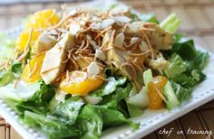 Oriental Chicken Salad and Dressing...The dressing adds an amazing flavor.