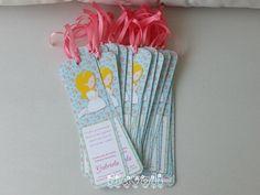 Marcadores de livro para Primeira Comunhão - Menina floral  :: flavoli.net - Papelaria Personalizada :: Contato: (21) 98-836-0113 - Também no WhatsApp! vendas@flavoli.net