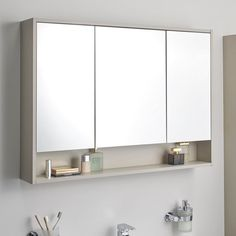 Vitra Integra Large Mirror Cabinet for size 1200 X 1200 Large Bathroom Mirror Cabinet - There are countless benefits of bathroom mirrors with lights Large Bathroom Mirrors, Bathroom Mirror Storage, Bathroom Mirror Lights, Large Bathrooms, Small Bathroom, Bathroom Medicine Cabinet, Bathroom Ideas, Bathtub Ideas, Neutral Bathroom
