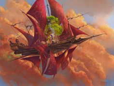 Denis kornev fantasy places, fantasy world, steampunk illustration, flying ship Fantasy Concept Art, Fantasy Artwork, Fantasy Places, Fantasy World, Steampunk Ship, Steampunk Makeup, Steampunk Drawing, Steampunk Men, Steampunk Gadgets