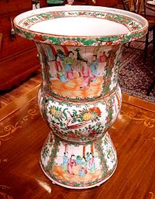 rose medallion umbrella stand - Google Search