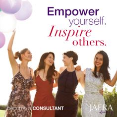 As a JAFRA Consultant, you can can achieve success and be an inspiration to others! Join now! http://www.myjafra.com/jafra4uskin