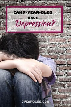 Depression is a big deal in our society today. We as adults see it often. But is it possible for a child as young as 7-years-old to have depression? #depression #mentalhealth