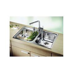 CHIUVETA DE BUCATARIE BLANCO MEDIAN 9 18/10 FINISAJ INOX ,MONTAJ CLASICA PE BLAT CU MARGINE SI PROFIL CONVENTIONAL - Iak Sink, Kitchen, Home Decor, White People, Cooking, Homemade Home Decor, Vessel Sink, Sink Tops, Sinks