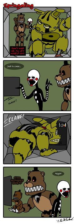 Springaling 76: The Privacy Act by Negaduck9.deviantart.com on @DeviantArt