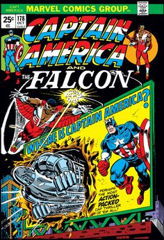 Captain America (1968) Issue #178 - Read Captain America (1968) Issue #178 comic online in high quality