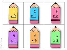Write Way Math {Multiplication Facts 0-9}