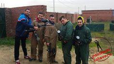 Este grupo de amigos paintbaleros se lo pasaron en grande en Paintball Talavera.