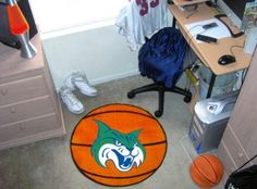 Georgia College State GCSU Bobcats Basketball Shaped Area Rug Welcome/Bath Mat