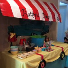 Soda shop/sundae bar grease 50's birthday