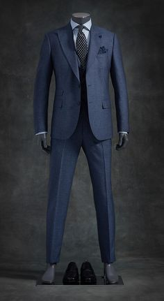 Today I am going to talk about the best blue suits for men. After researching, testing, and recommending the best blue suits for men that you can afford. Suits For Tall Men, Big Man Suits, Sharp Dressed Man, Well Dressed, Mens Fashion Suits, Mens Suits, Fashion Vest, Best Blue Suits, Terno Slim