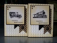 All Aboard Masculine Birthday by Ink-Creatable WOH - Cards and Paper Crafts at Splitcoaststampers